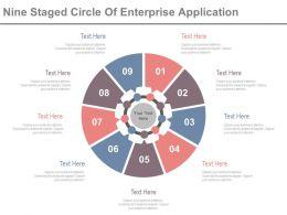 nine_staged_circle_of_enterprise_application_powerpoint_slides_Slide01