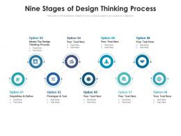 Nine Stages Of Design Thinking Process