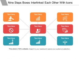 nine_steps_boxes_interlinked_each_other_with_icons_Slide01