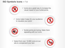 No Digging Drilling Fork Lift Do Not Dig Ppt Icons Graphics