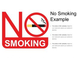 No Smoking Example