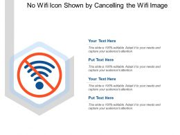 No Wifi Icon Shown By Cancelling The Wifi Image
