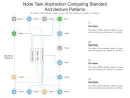 Node Task Abstraction Cloud Computing Standard Architecture Patterns Ppt Presentation Diagram