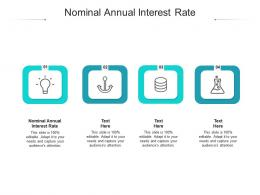 Nominal Annual Interest Rate Ppt Powerpoint Presentation Infographics Brochure Cpb