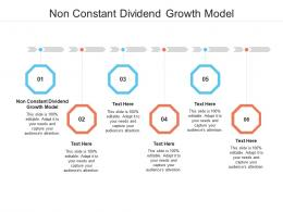 Non Constant Dividend Growth Model Ppt Powerpoint Presentation Visual Aids Show Cpb