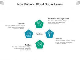Non Diabetic Blood Sugar Levels Ppt Powerpoint Presentation Show Sample Cpb