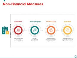Non Financial Measures Powerpoint Slide Themes