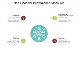 Non Financial Performance Measures Ppt Powerpoint Presentation Infographics Deck Cpb