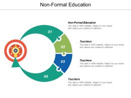 Non Formal Education Ppt Powerpoint Presentation Icon Example Topics Cpb
