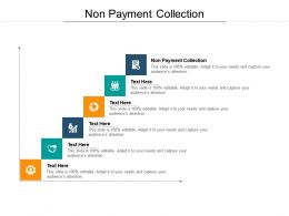 Non Payment Collection Ppt Powerpoint Presentation Model Outfit Cpb