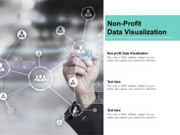 Non Profit Data Visualization Ppt Powerpoint Presentation Icon Samples Cpb