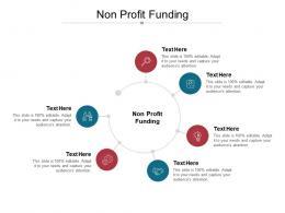 Non Profit Funding Ppt Powerpoint Presentation Professional Ideas Cpb