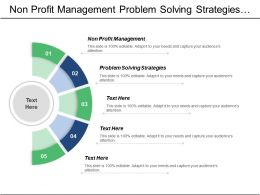 Non Profit Management Problem Solving Strategies Competitive Intelligence Cpb