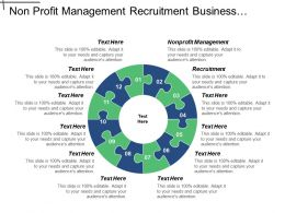 non_profit_management_recruitment_business_continuity_lifecycle_organizational_learning_cpb_Slide01