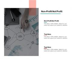 Non Profit Not Profit Ppt Powerpoint Presentation Outline Layout Cpb