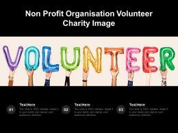 Non Profit Organisation Volunteer Charity Image