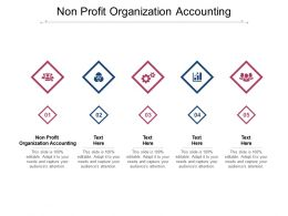 Non Profit Organization Accounting Ppt Powerpoint Presentation Model Graphics Cpb