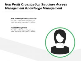 Non Profit Organization Structure Access Management Knowledge Management Cpb