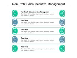 Non Profit Sales Incentive Management Ppt Powerpoint Template Slides Cpb