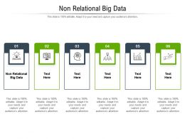 Non Relational Big Data Ppt Powerpoint Presentation Pictures Deck Cpb