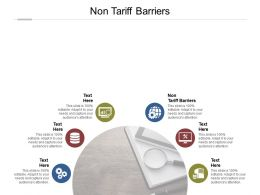 Non Tariff Barriers Ppt Powerpoint Presentation Pictures Portrait Cpb
