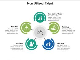 Non Utilized Talent Ppt Powerpoint Presentation Icon Design Templates Cpb