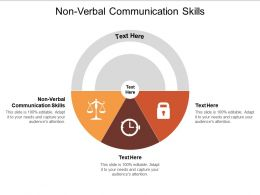 Non Verbal Communication Skills Ppt Powerpoint Presentation Show Grid Cpb