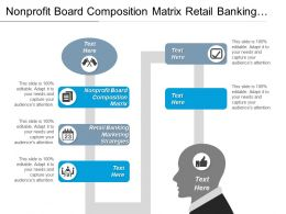 Nonprofit Board Composition Matrix Retail Banking Marketing Strategies Cpb