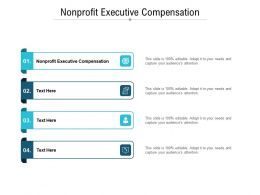 Nonprofit Executive Compensation Ppt Powerpoint Presentation Gallery Slideshow Cpb