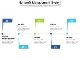 Nonprofit Management System Ppt Powerpoint Presentation File Background Designs Cpb