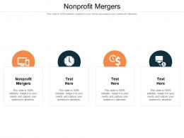 Nonprofit Mergers Ppt Powerpoint Presentation Outline Outfit Cpb