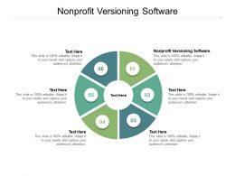 Nonprofit Versioning Software Ppt Powerpoint Presentation Slides Gallery Cpb