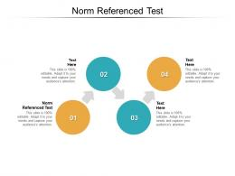 Norm Referenced Test Ppt Powerpoint Presentation Visual Aids Slides Cpb
