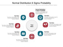 Normal Distribution 6 Sigma Probability Ppt Powerpoint Presentation Infographic Template Graphics Tutorials Cpb