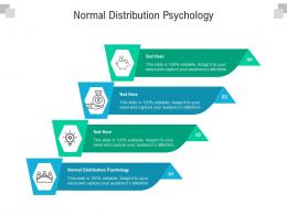 Normal Distribution Psychology Ppt Powerpoint Presentation Infographics Backgrounds Cpb