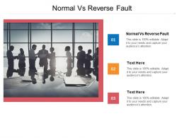Normal Vs Reverse Fault Ppt Powerpoint Presentation Icon Deck Cpb