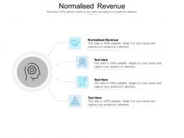 Normalised Revenue Ppt Powerpoint Presentation Styles Graphics Download Cpb
