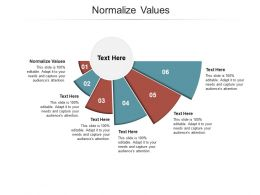 Normalize Values Ppt Powerpoint Presentation Show Graphics Cpb