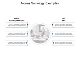 Norms Sociology Examples Ppt Powerpoint Presentation Background Image Cpb