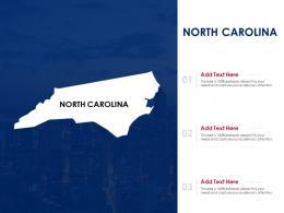 North Carolina Powerpoint Presentation PPT Template
