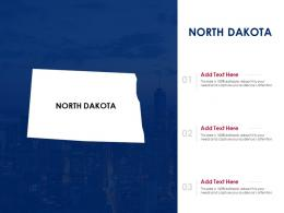North Dakota Powerpoint Presentation PPT Template