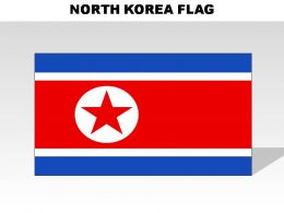 North Korea Country Powerpoint Flags