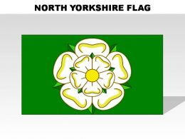 North Yorkshire Country Powerpoint Flags