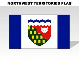 Northwest Territories Country Powerpoint Flags