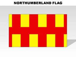 Nortumberland Country Powerpoint Flags