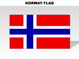 Norway Country Powerpoint Flags