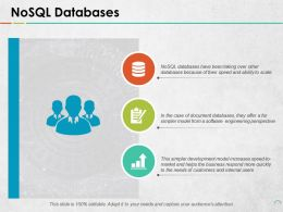 Nosql Databases Ppt Pictures Background Image