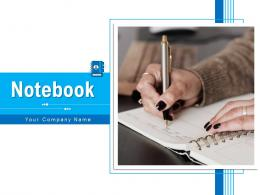 Notebook Business Sketching Together Flowerpot