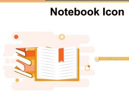 Notebook Icon Business Electric Organization Dollar Growth Strategy