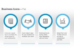 Notepad Partnership Introduction Bar Graph Ppt Icons Graphics